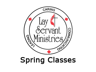 Lay Servant Ministries Spring Classes Logo